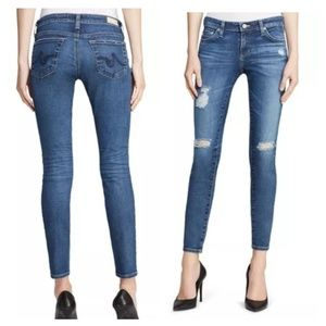 Adriano Goldschmied 30R Super Skinny Ankle Jean Th